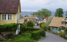Arild, Sweden - there's plenty of natural beauty in Arild, a fishing village on a peninsula in southwest Sweden