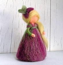 Handmade fairy - Handmade víla z vlny #handmade #fairy #wool #decoration…