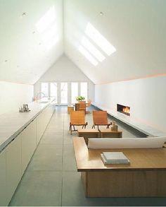 Architect Visit: John Pawson in Telluride - Remodelista - Architecture Attic Apartment, Attic Rooms, Attic Playroom, Attic Bathroom, Apartment Therapy, Attic Renovation, Attic Remodel, Minimalist Kitchen, Minimalist Interior