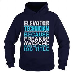 ELEVATOR-TECHNICIAN - #men shirts #best sweatshirt. I WANT THIS => https://www.sunfrog.com/LifeStyle/ELEVATOR-TECHNICIAN-109536193-Navy-Blue-Hoodie.html?60505