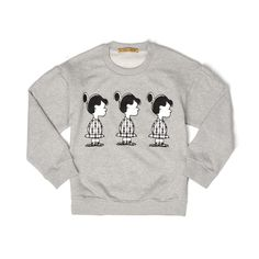 Peter Jensen Womens Mini 'Violet' Sweatshirt Grey Marl - Concrete