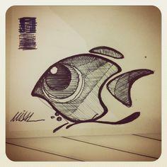 Peixes, feito por Vinicius Vidal