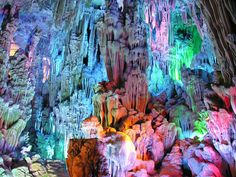15. Reed Flute Caves - Guangxi, China