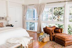 #bedroom #leatherarmchair #bedroominspo #theeverygirl