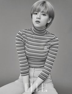 Jeongyeon (Twice) - Elle Magazine December Issue '16