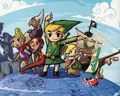 Windwaker is probably one of my favourite Zelda games c':