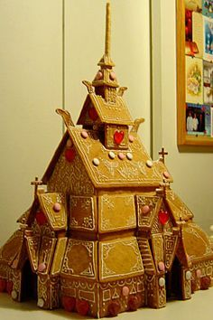 norwegian gingerbread house - Google Search
