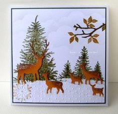 winter wonderland by Janja - Cards and Paper Crafts at Splitcoaststampers
