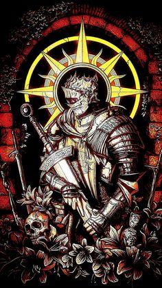 Sif Dark Souls, Arte Dark Souls, Dark Fantasy Art, Fantasy Artwork, Ornstein Dark Souls, Viking Power, Le Joker Batman, Samourai Tattoo, Soul Tattoo