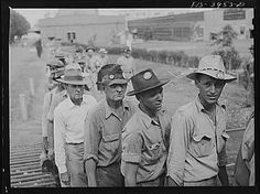 Wilson Dam, Alabama (Tennessee Valley Authority (TVA)). Workers checking out at end of shift at a chemical engineering plant