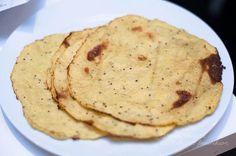 blomkålstortillas, mjölkfria Lchf, Keto, Atkins, Guacamole, Vegetarian Recipes, Paleo Food, Sweets, Dinner, Cooking