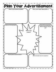 003 For media literacy, a graphic organizer to plan your