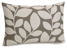 Jovi Home Fern Jacquard Decorative Cotton Pillow Cover