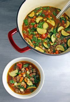 Uncle Ron's Vegetable Beef Soup