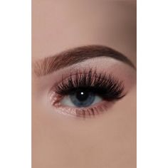 Doll Lash Katie False Eyelashes (840 INR) ❤ liked on Polyvore featuring beauty products, makeup, eye makeup, false eyelashes and black
