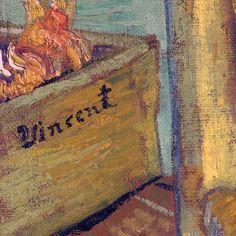 Lone Quixote — Vincent van Gogh Detail of signature (Van Gogh's. Vincent Van Gogh, Van Gogh Art, Art Van, Van Gogh Tattoo, Van Gogh Paintings, Post Impressionism, Yellow Painting, Monet, Impressionism