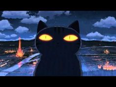 """""""A Gathering of Cats"""" (""""Neko no Shuukai"""")  In this short the family cat (Chobi) has had his tail stepped on one too many times and dreams of revenge..."""