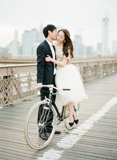 A Timeless New York City Engagement, Bomi + Billy