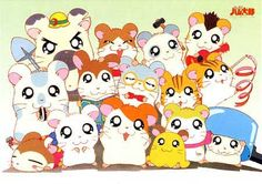 The Adventures of Hamtaro is a Japanese children's storybook series by Ritsuko Kawai. The main character is a brave hamster named Hamtaro wh. Hamtaro, Cartoon Cartoon, Cartoon Photo, Cardcaptor Sakura, Cartoon Network Viejo, Chibi, Manga Anime, Haruhi Suzumiya, Nostalgia
