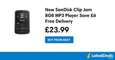 New SanDisk Clip Jam 8GB MP3 Player Save £6 Free Delivery, £23.99 at ebay