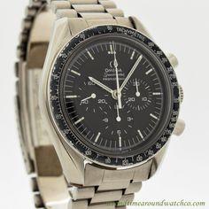 1969 Vintage Omega Speedmaster Professional Moon 145.022-69 ST Stainless Steel Watch