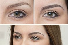 healed eyebrow permanent hair stroke tattoo - Google Search