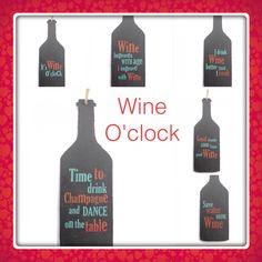 Wine slate plaques
