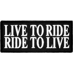 Biker patches, sayings and funny patches available from the leading brand of embroidered patches. PatchStop has the largest selection and best prices.