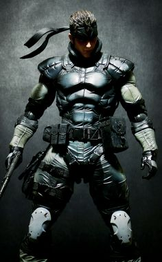 Metal Gear Solid Snake - Play Arts Kai Square Enix