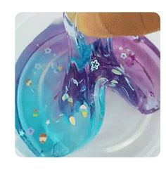 So totally amazing it's like a clearing GALAXY slime