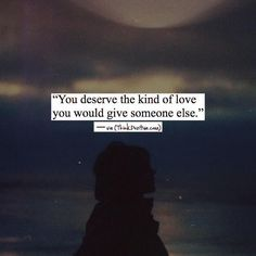 Positive Quotes :    QUOTATION – Image :    Quotes Of the day  – Description  You deserve the kind of love you would give someone else. via (ThinkPozitive.com)  Sharing is Power  – Don't forget to share this quote !    https://hallofquotes.com/2018/03/07/positive-quotes-you-deserve-the-kind-of-love-you-would-give-someone-else-via-thinkpozitive-com/