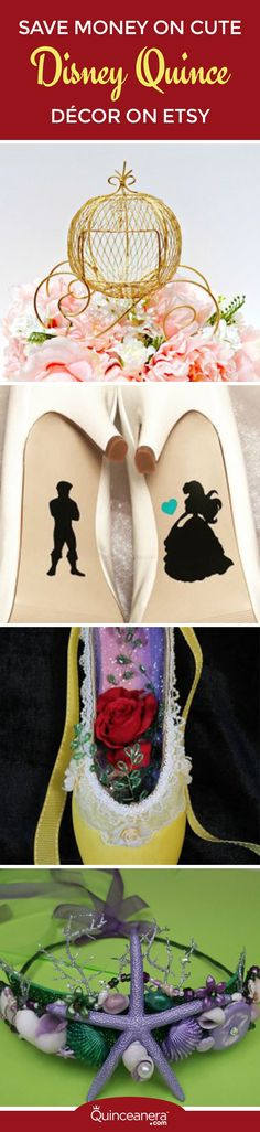 Planning for your Quinceanera can be stressful especially when it comes to working with your budget! But why sacrifice quality for price, when you can have both! - See more at: http://www.quinceanera.com/decorations-themes/save-money-on-cute-disney-quince-decor-on-etsy/#sthash.vlRgkP2j.dpuf