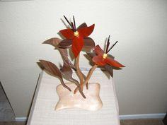 flowers of wood