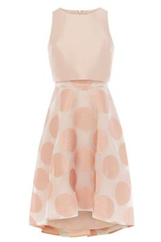 Wedding Guest Dresses & Outfits | Pinks PERNILLA SPOT DRESS | Coast Stores Limited                                                                                                                                                                                 More