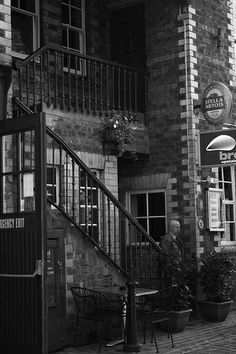 Stairway - Glasgow. This is on the same street as the grosvenor cinema, in the west end - well worth a visit if you're in Glasgow.