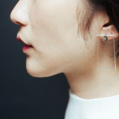 Simple and Beautiful Curved Line Ear