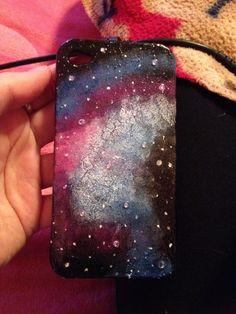 DIY galaxy phone case