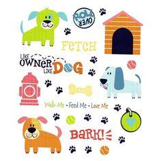 Puppy Dog Stickers