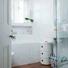 white mosaic tiles in bathrooms - Google Search