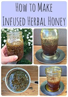 How to Make Infused Herbal Honey