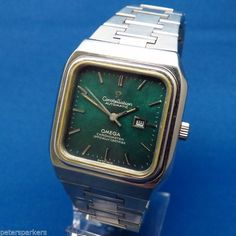 GENTS VINTAGE STEEL OMEGA CONSTELLATION OFFICIALLY CERTIFIED AUTOMATIC WATCH -783 EURO