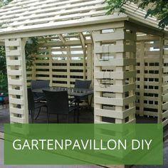 GroBartig Gartenpavillon Selber Bauen: 2 Ideen Mit Bauanleitung