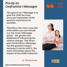 #imessage #communication #gordonmodel #gordontraining Kids Behavior, Training Programs, Best Quotes, Communication, Parenting, Goals, Messages, Pets, Children