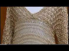 Blusa Encanto em tricô ( Completo) by Marcia Bergantin