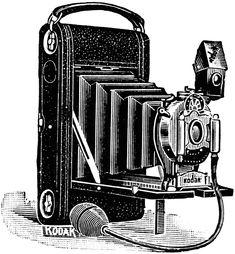 Kodak Camera, 1907 | ClipArt ETC