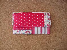 As Malas da Bi: Tecido com inspiração patchwork para carteira com ...