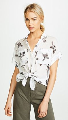 2a94830b3bb30f Bella Dahl Rolled Short Sleeve Shirt Dahl