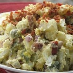 "Red Skinned Potato Salad | ""I have made lots of potato salad in my time, and this one is one of the best!"""