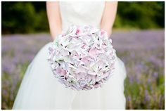 Paper Pinwheel Bouquet