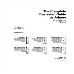 Hierarchy and Grid Exercise: Table of Contents on Behance